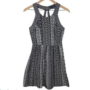 American Eagle Cage Back Tribal Print Dress Sz 4